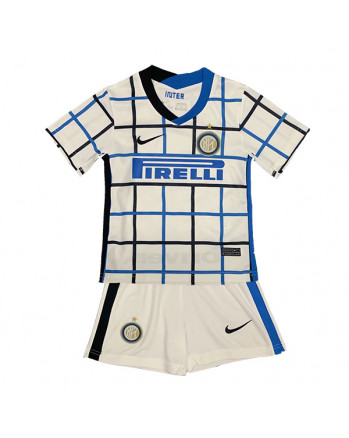 Inter Away Kids Soccer Kit 2020-21