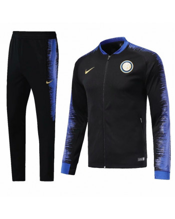 Inter Home Blue&Black Training Tracksuit 2018-19