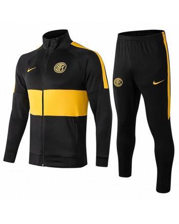 Inter Milan Black Training Tracksuit 2019-20