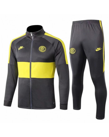 Inter Black&Yellow Training Tracksuit 2019-20