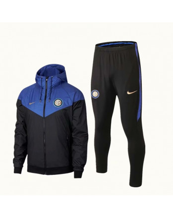 Inter Milan Blue Training Tracksuit 2018-19