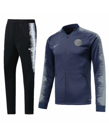 Inter Milan Blue&Black Training Tracksuit 2018-19