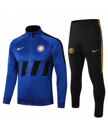 Inter Milan Blue Training Tracksuit 2019-20