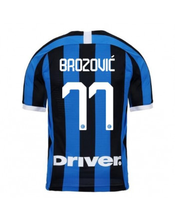 Inter Home BROZOVIC Soccer Jersey 2019-20