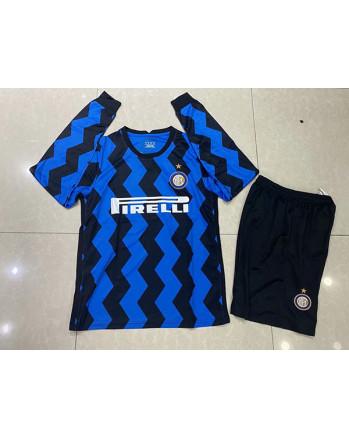 Inter Milan Home Long Sleeve Soccer Jersey 2020-21
