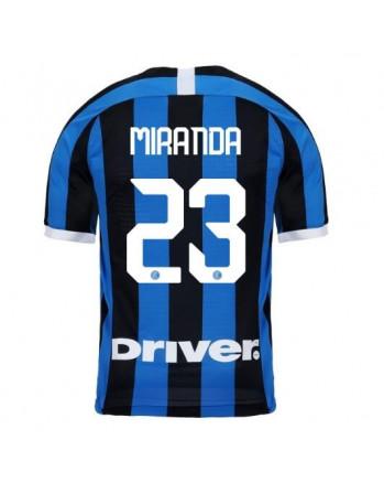 Inter Milan Home MIRANDA Soccer Jersey 2019-20
