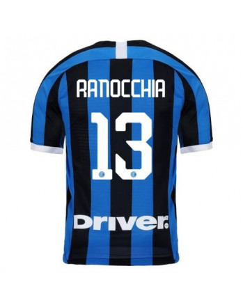 Inter Milan Home RANOCCHIA Soccer Jersey 2019-20
