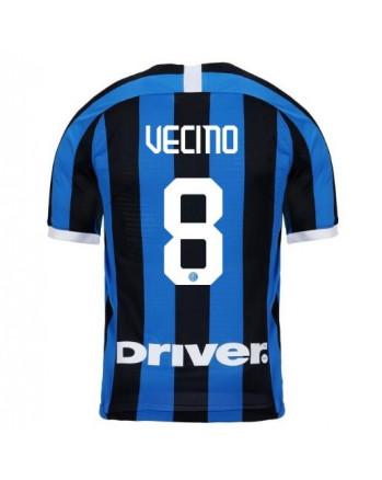 Inter Milan Home VECINO Soccer Jersey 2019-20