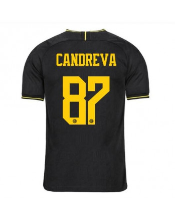Inter Third Away CANDREVA Soccer Jersey 2019-20