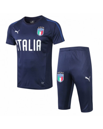 Italy Blue Training Jersey And Shorts 2019-20