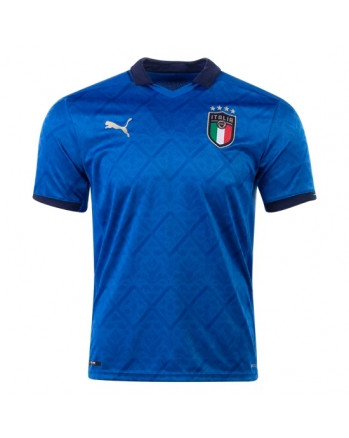 Italy Euro Home Soccer Jersey 2020-21