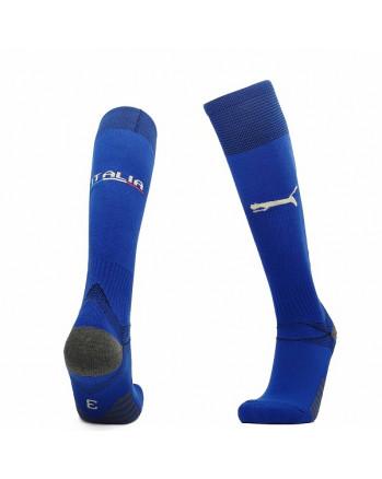 Italy Home Soccer Socks 2020-21