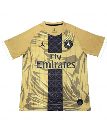 Jordan Paris SG Golden Soccer Jersey 2019-20