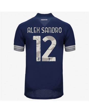 Juventus Away ALEX SANDRO Soccer Jersey 2020-21