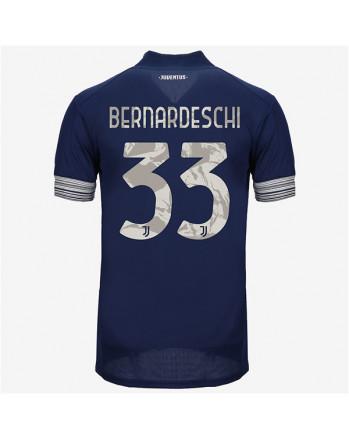 Juventus Away BERNARDESCHI Soccer Jersey 2020-21