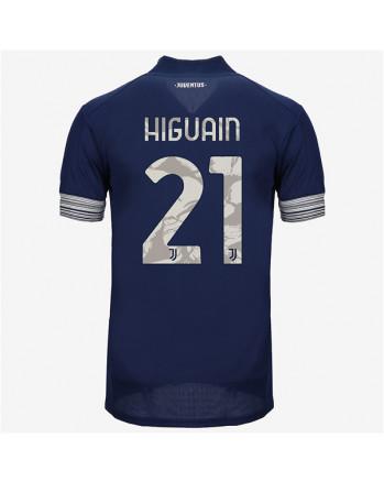 Juventus Away HIGUAIN Soccer Jersey 2020-21