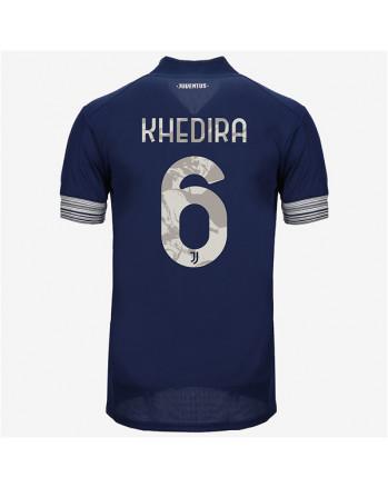 Juventus Away KHEDIRA Soccer Jersey 2020-21