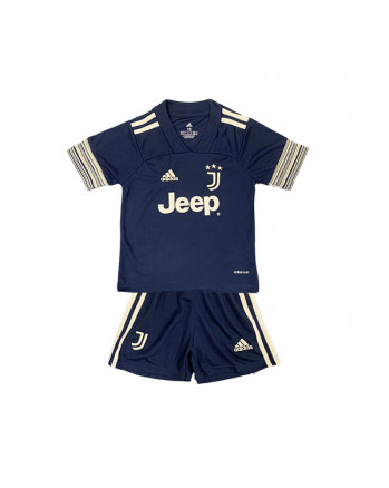Juventus Away Kids Soccer Kit 2020-21