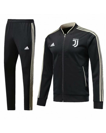 Juventus Black Training Tracksuit 2018-19