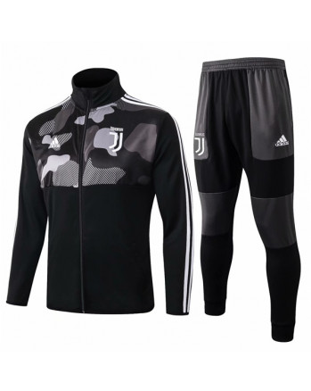 Juventus Black Training Tracksuit 2019-20