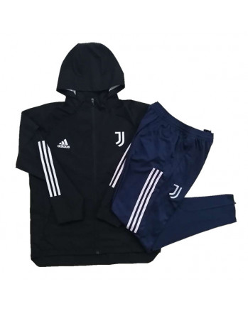 Juventus Black Training Tracksuit 2020-21