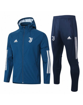 Juventus Blue Training Tracksuit 2021-22