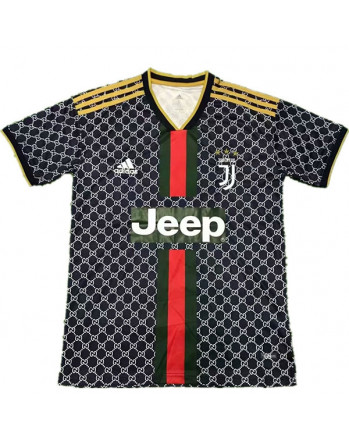 Juventus GUCCI Edition Black Soccer Jersey 2019-20