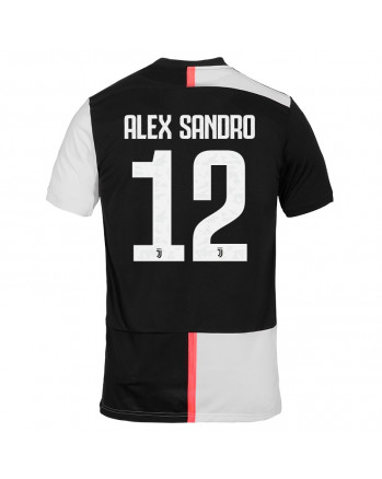Juventus Home ALEX SANDRO Soccer Jersey 2019-20