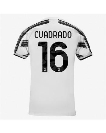 Juventus Home CUADRADO Soccer Jersey 2020-21