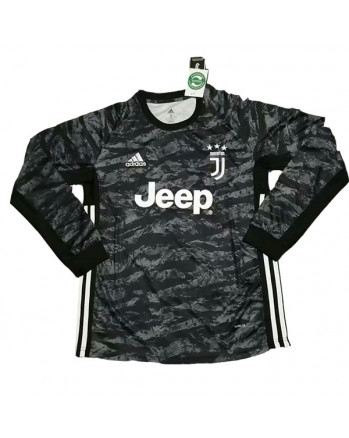 Juventus Home Goalkeeper Long Sleeve Soccer Jersey 2019-20