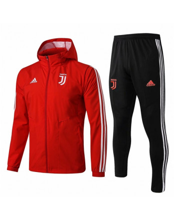 Juventus Red Training Tracksuit 2019-20