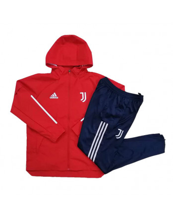 Juventus Red Training Tracksuit 2020-21