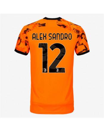 Juventus Third Away ALEX SANDRO Soccer Jersey 2020-21