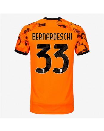 Juventus Third Away BERNARDESCHI Soccer Jersey 2020-21