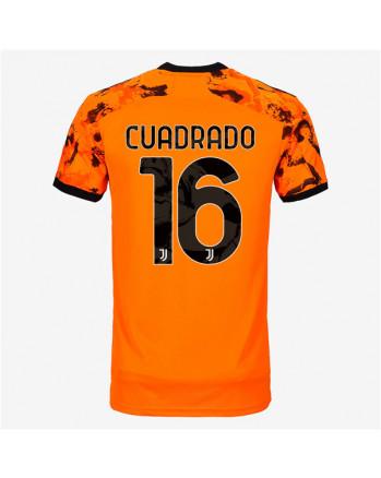 Juventus Third Away CUADRADO Soccer Jersey 2020-21