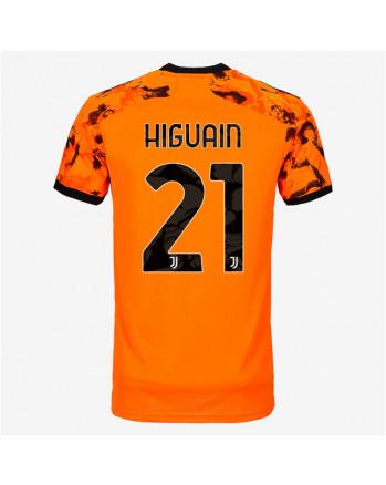 Juventus Third Away HIGUAIN Soccer Jersey 2020-21