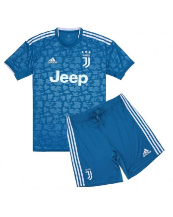 Juventus Third Away Kids Soccer Kit 2019-20
