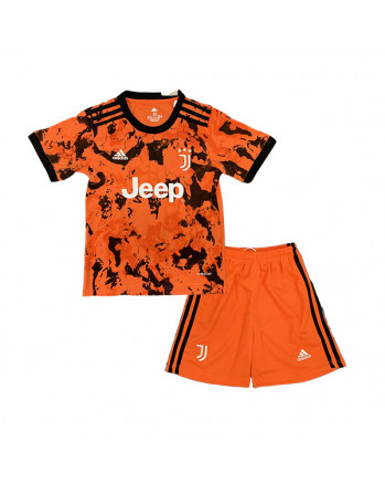 Juventus Third Away Kids Soccer Kit 2020-21