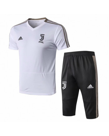 Juventus White Training Jersey And Shorts 2019-20