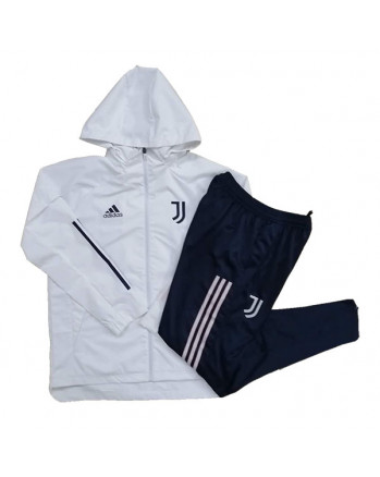 Juventus White Training Tracksuit 2020-21 (Windbreaker Jacket)
