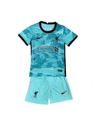 Liverpool Away Kids Soccer Kit 2020-21
