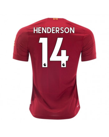 Liverpool Home HENDERSON Soccer Jersey 2019-20