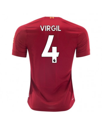 Liverpool Home VIRGIL Soccer Jersey 2019-20