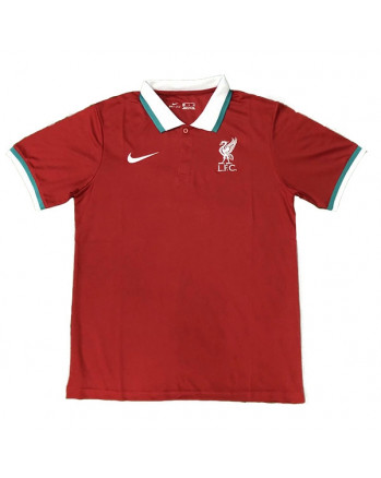 Liverpool Red Polo Training Shirt 2020-21
