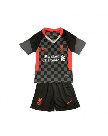 Liverpool Third Away Kids Soccer Kit 2020-21