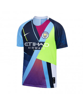 Manchester City 6th Anniversary Soccer Jersey 2019-20