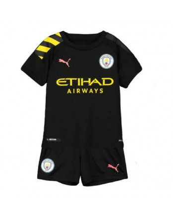 Manchester City Away Kids Soccer Kit 2019-20