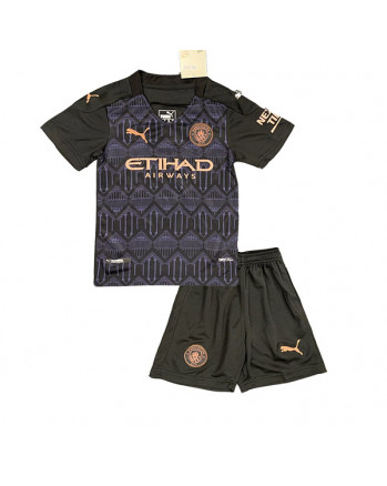 Manchester City Away Kids Soccer Kit 2020-21