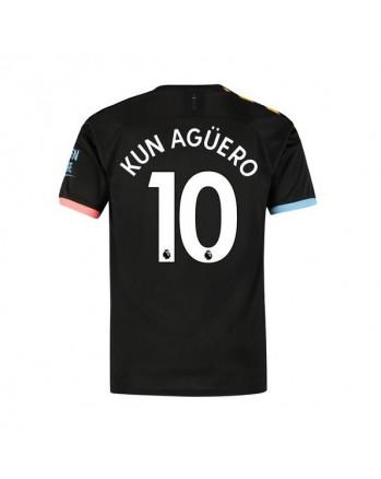 Manchester City Away KUN AGUERO Soccer Jersey 2019-20
