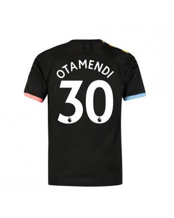 Manchester City Away OTAMENDI Soccer Jersey 2019-20